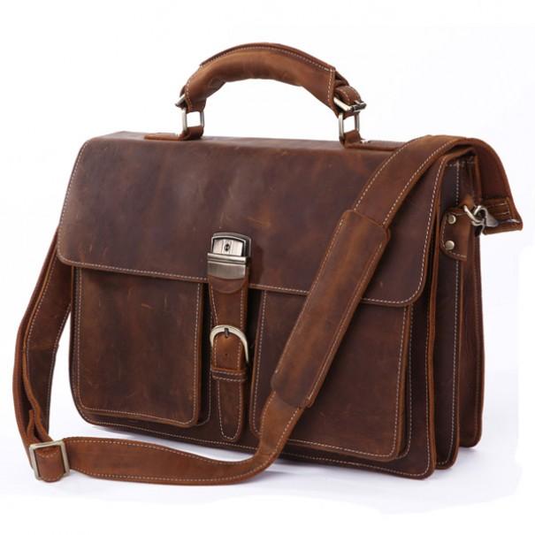 мужская кожаная сумка Atas