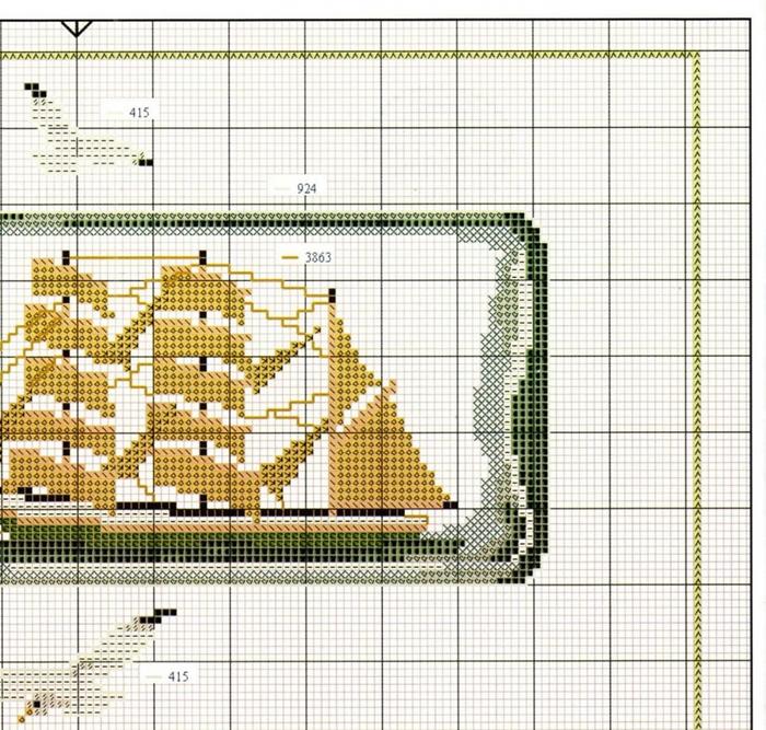Часть 37 - Схема вышивки.