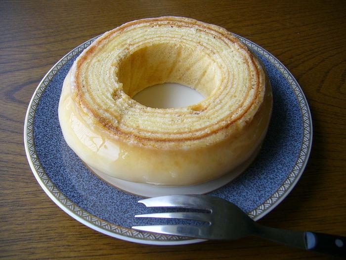 торт баумкухен рецепт фото #1