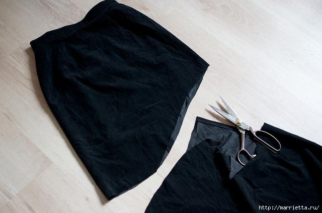 Переделка одежды. Юбка ГОДЕ  (8) (640x424, 172Kb)