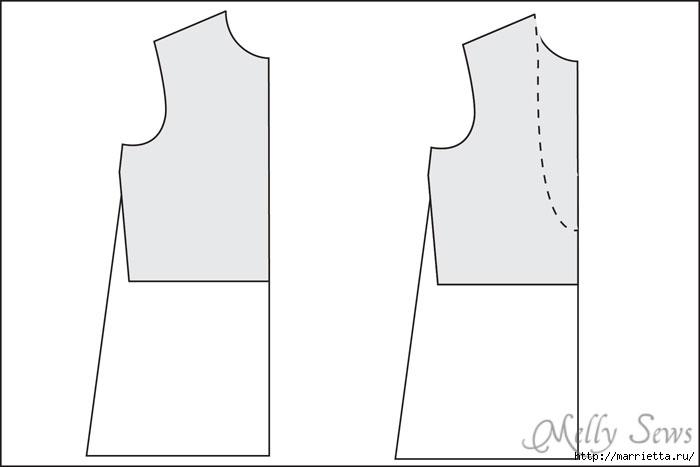 Переделка одежды. Сарафан из платья (2) (700x467, 40Kb)