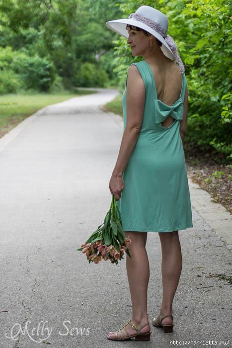 Переделка одежды. Сарафан из платья (4) (467x700, 187Kb)
