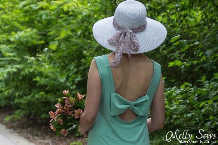 Переделка одежды. Сарафан из платья (6) (700x467, 204Kb)