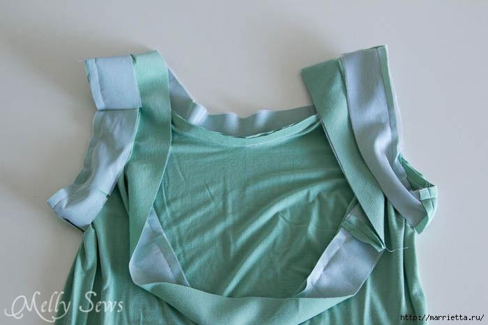 Переделка одежды. Сарафан из платья (14) (700x467, 116Kb)
