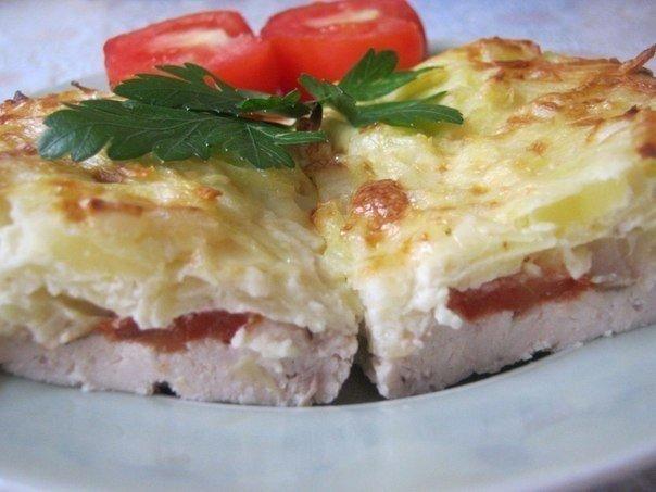 Рецепт фото куриного филе картофелем