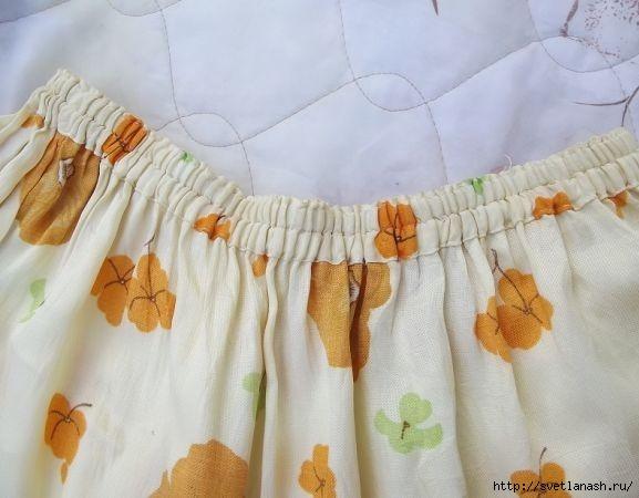 Простая юбки в пол
