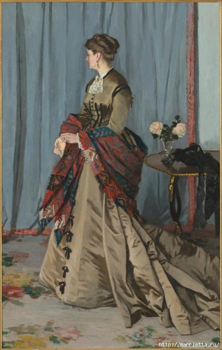 Дизайн интерьера. Романтика 19-го века. Акварель (8) (443x700, 231Kb)