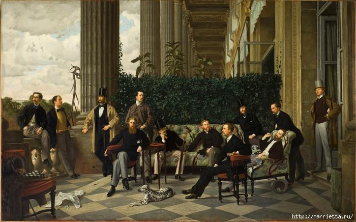 Дизайн интерьера. Романтика 19-го века. Акварель (13) (700x436, 280Kb)