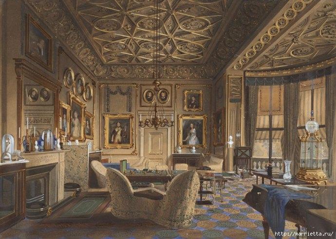 Дизайн интерьера. Романтика 19-го века. Акварель (14) (690x492, 228Kb)