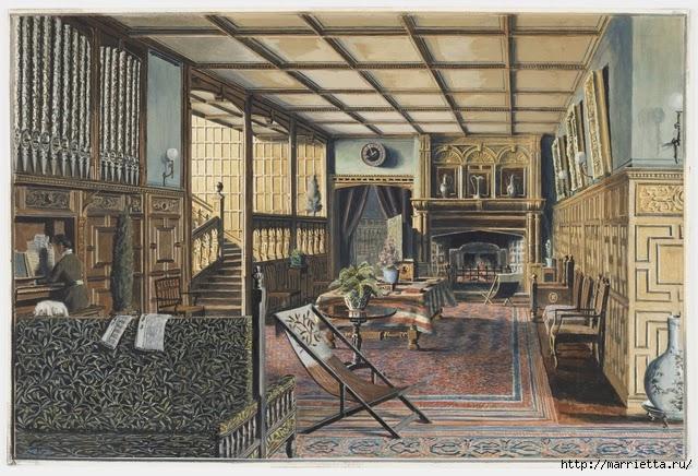 Дизайн интерьера. Романтика 19-го века. Акварель (16) (640x436, 247Kb)