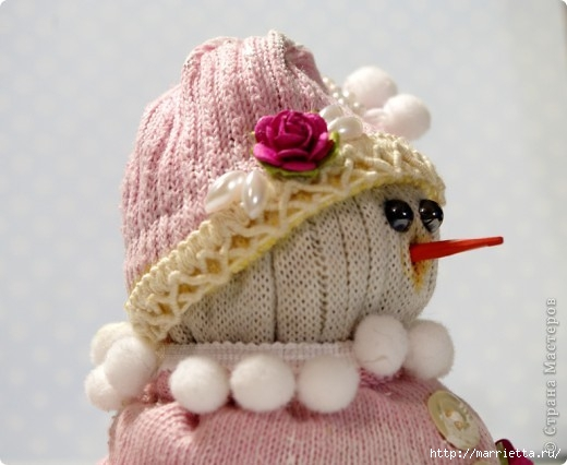 Дед мороз из носков своими руками мастер