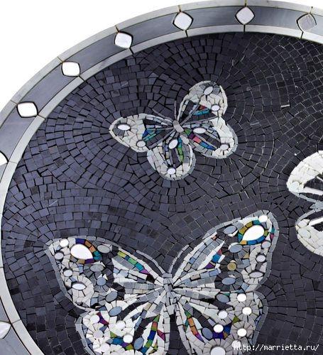 Зеркальная мозаика. Роскошные идеи для вдохновения (8) (455x500, 178Kb)