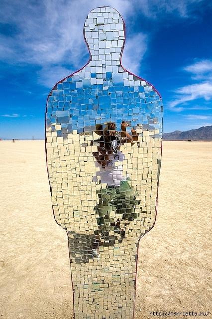 Зеркальная мозаика. Роскошные идеи для вдохновения (36) (426x640, 268Kb)