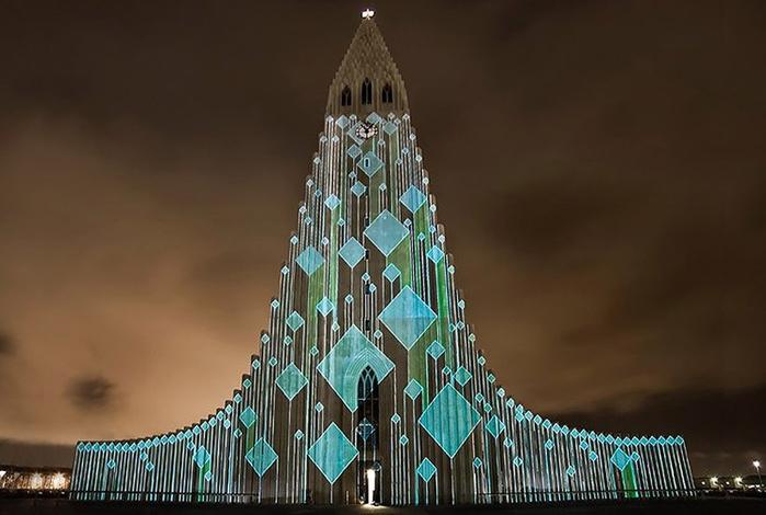Церковь La Luz de Mundo - штаб-квартира церкви Свет мира