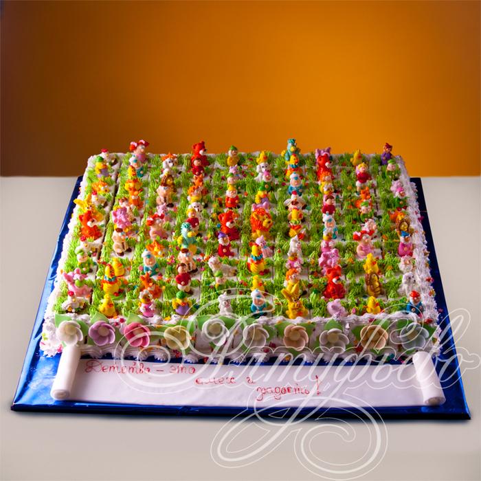 деткий торт с фигурками из мастики (1) (700x700, 678Kb)