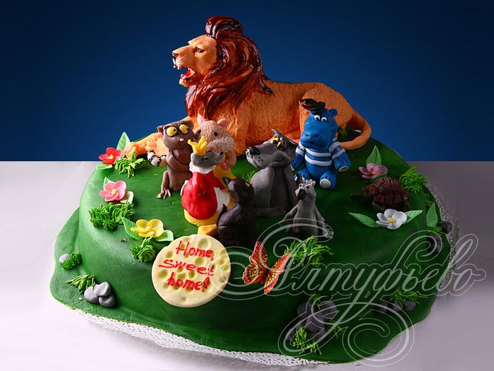 деткий торт с фигурками из мастики (4) (700x525, 355Kb)