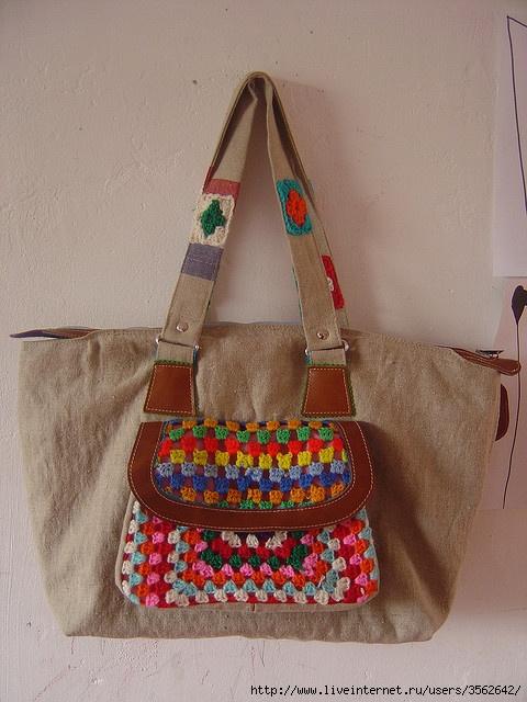 欣赏:钩织的包包、袋袋 - maomao - 我随心动