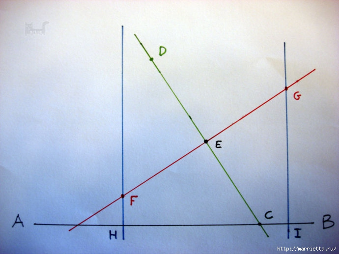 Урок лоскутного шитья. Блок ВЕРТУШКА (7) (690x517, 164Kb)