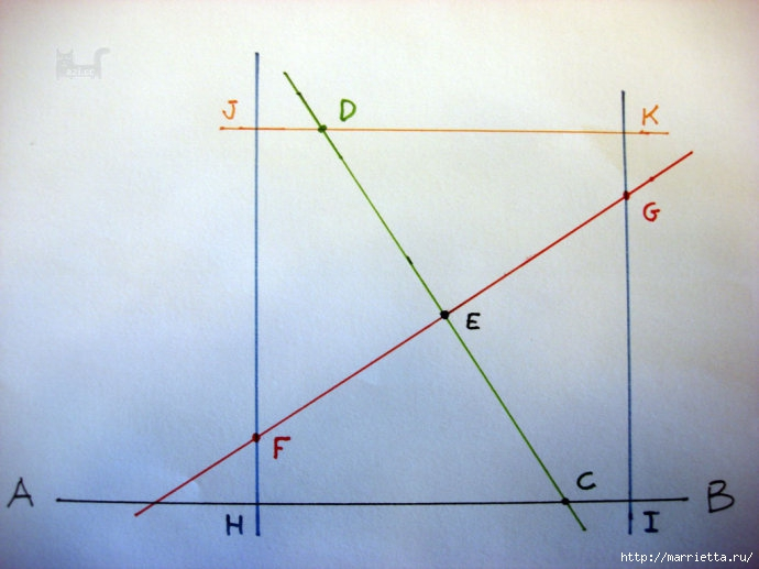 Урок лоскутного шитья. Блок ВЕРТУШКА (9) (690x517, 165Kb)
