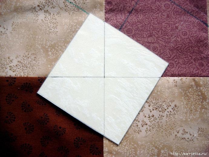 Урок лоскутного шитья. Блок ВЕРТУШКА (12) (690x517, 247Kb)