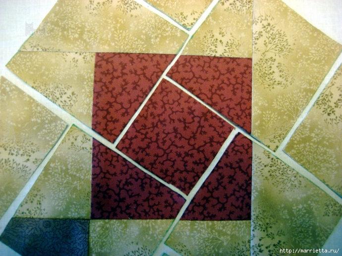Урок лоскутного шитья. Блок ВЕРТУШКА (15) (690x517, 262Kb)