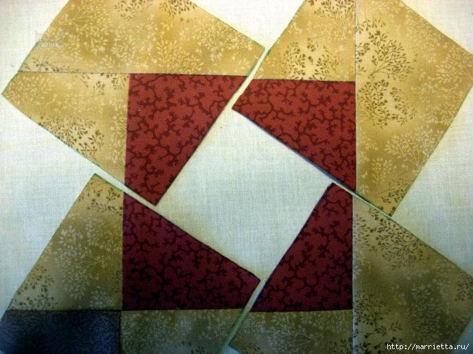 Урок лоскутного шитья. Блок ВЕРТУШКА (17) (690x517, 241Kb)