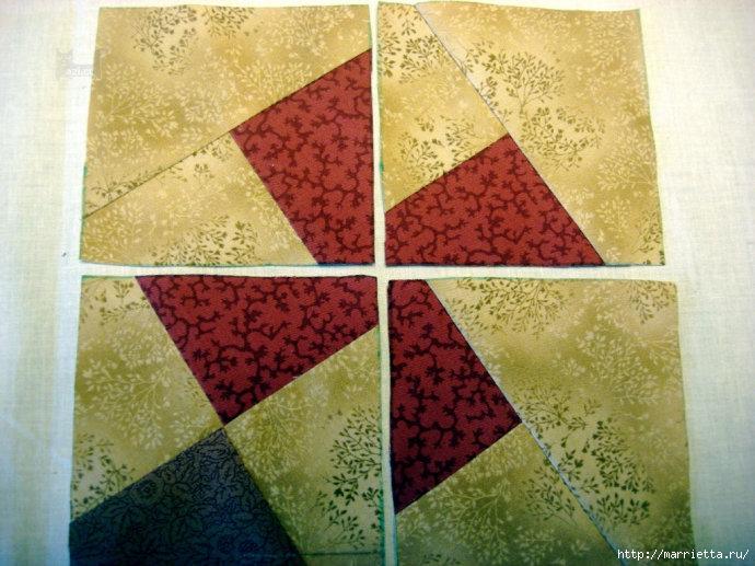 Урок лоскутного шитья. Блок ВЕРТУШКА (19) (690x517, 258Kb)