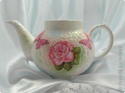 Кашпо из чайника, декорирование яичным кракле (6) (400x300, 74Kb)