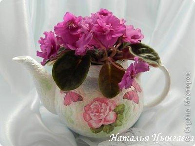 Кашпо из чайника, декорирование яичным кракле (8) (400x300, 79Kb)