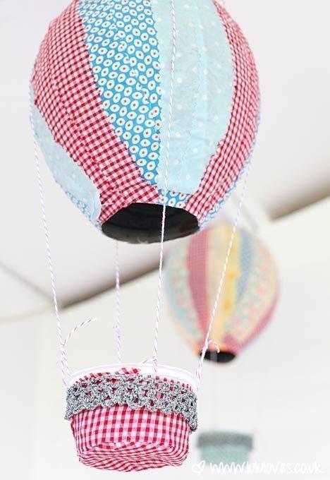 Воздушный шар делаем своими руками фото