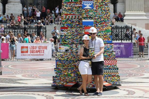 Самая высокая башня из LEGO собрана в Венгрии