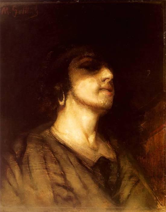 Мауриций Готтлиб Автопортрет 1876 (550x700, 32Kb)