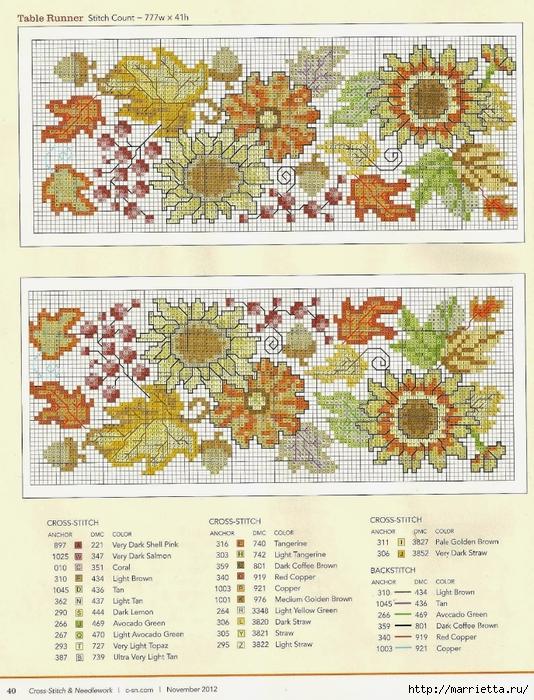 Летняя цветочная вышивка для скатерти (2) (534x700, 381Kb)
