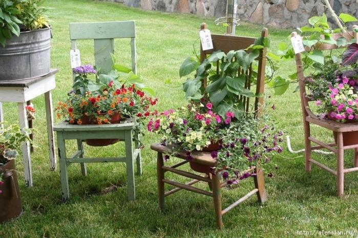 Для украшения садового участка своими руками