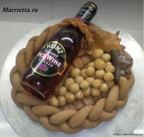 Декоративный венок для бутылки спиртного (1) (599x568, 197Kb)