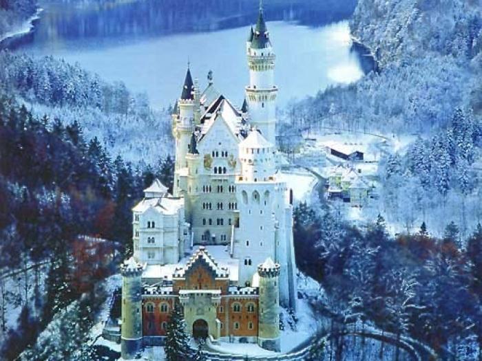 2. Бавария. Замок Нойшванштайн (700x525, 404Kb)