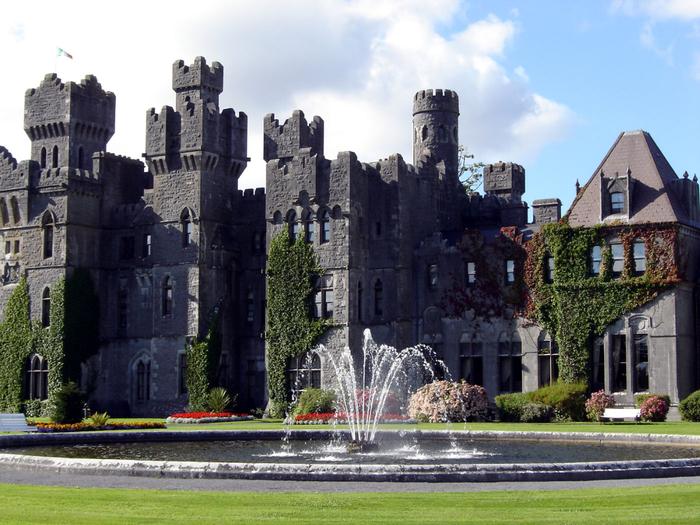 15. Ирландия. замок Эшфорд 1 (700x525, 451Kb)
