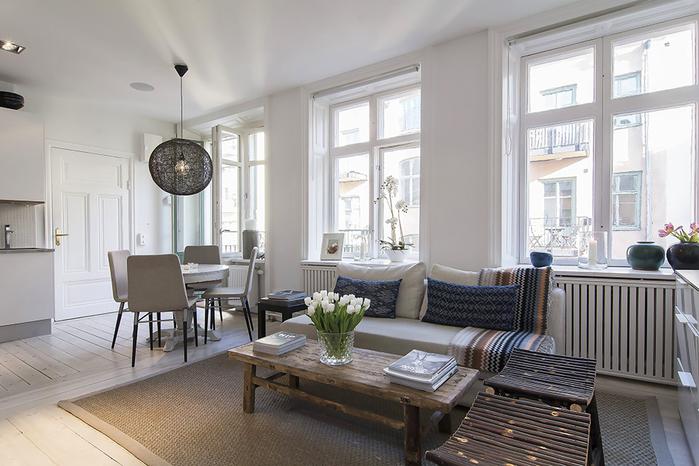 дизайн интерьера в скандинавском стиле фото 4 (700x466, 331Kb)