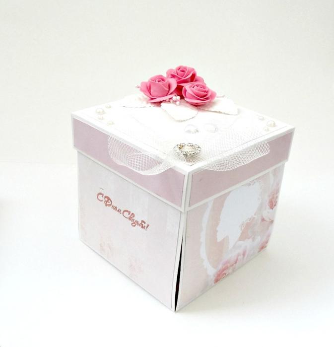 Ящик для свадебных подарков 86