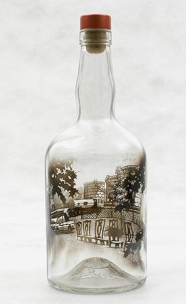 Дымные рисунки в бутылках Джима Дингилиана. Обсуждение на LiveInternet -  Российский Сервис Онлайн-Дневников