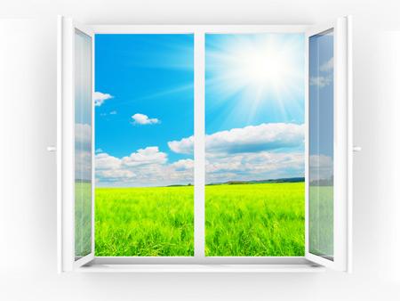 А у нашому віконці дуже гарно світить сонце!