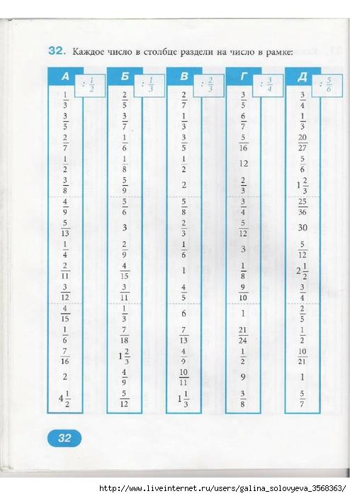 Математика 6 класс тренажер жохов гдз скачать