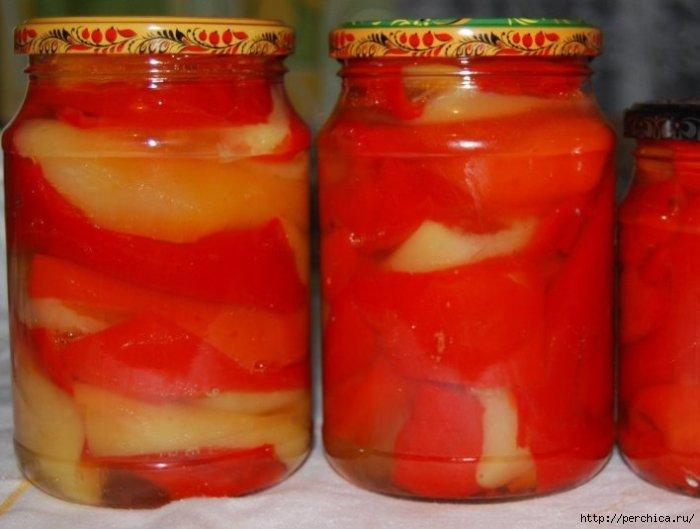 Перец болгарский маринованный на зиму рецепты с фото пошагово