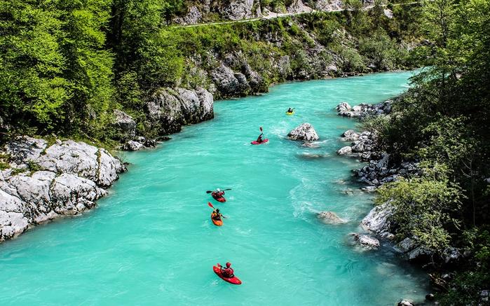 река соча славения фото 3 (700x437, 468Kb)