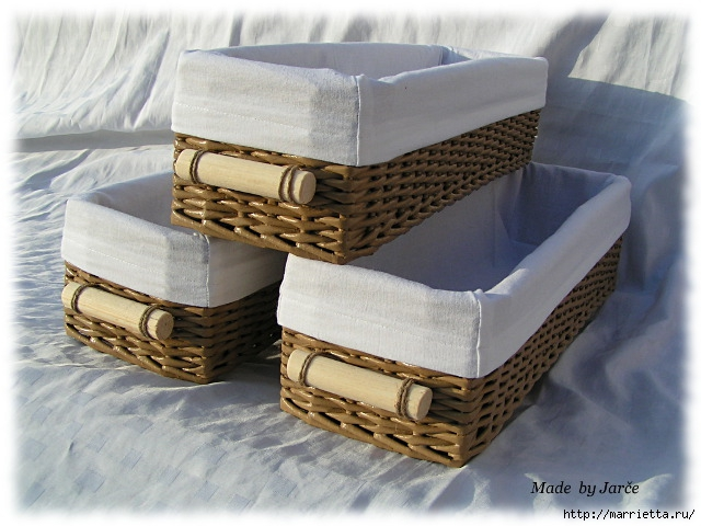 прямоугольные коробки из газетных трубочек (9) (640x480, 197Kb)