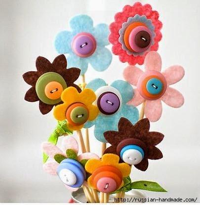 цветы из фетра (6) (405x415, 90Kb)