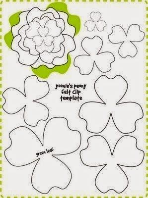 цветы из фетра (10) (298x400, 89Kb)