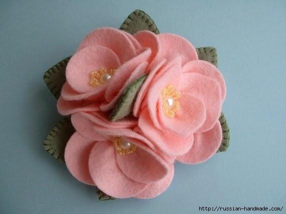 цветы из фетра (14) (570x428, 89Kb)