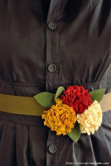 цветы из фетра (16) (427x640, 110Kb)