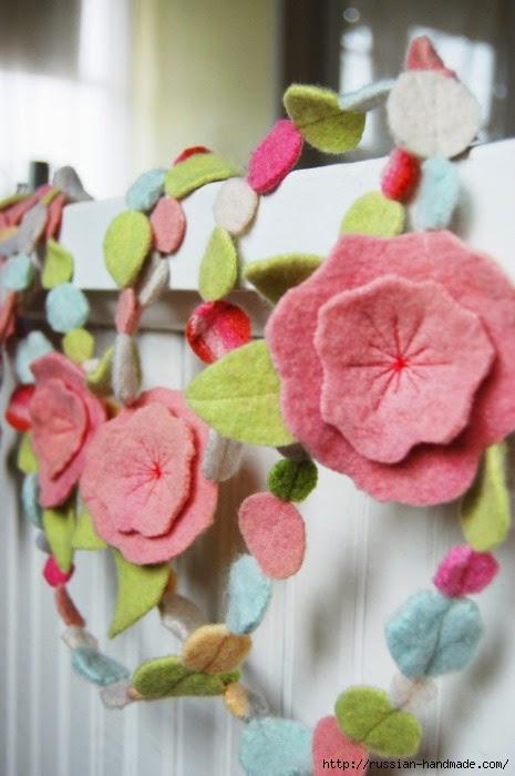 цветы из фетра (18) (465x700, 152Kb)